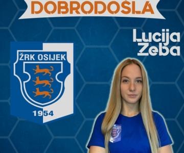Osječanka Lucija Zeba ponovno u Osijeku!